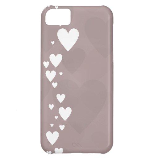 El corazón cara III Funda Para iPhone 5C