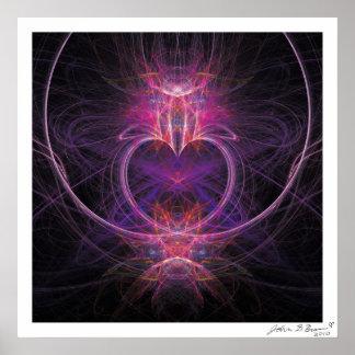 El corazón curativo impresiones