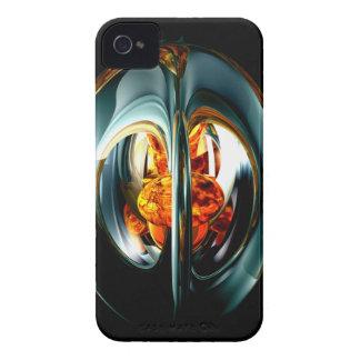 El corazón de la caja intrépida de Blackberry del Funda Para iPhone 4