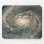 El corazón de la galaxia de Whirlpool Tapete De Ratón