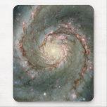 El corazón de la galaxia de Whirlpool Alfombrilla De Ratón