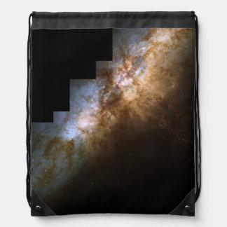 El corazón de la galaxia M82 de Starburst Mochilas