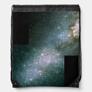 El corazón de la galaxia M82 en Light.ai infrarroj Mochila