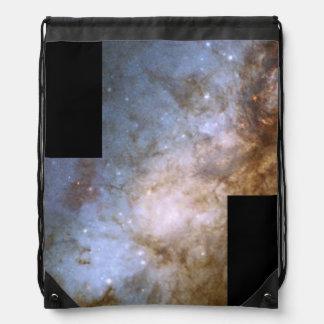 El corazón de la galaxia M82 en luz visible Mochila