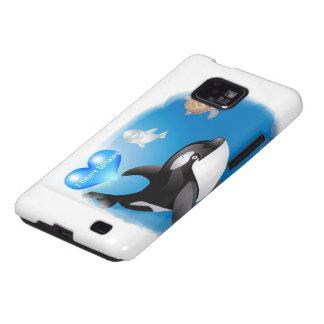 El corazón de la orca orca I diseña Samsung Galaxy SII Funda