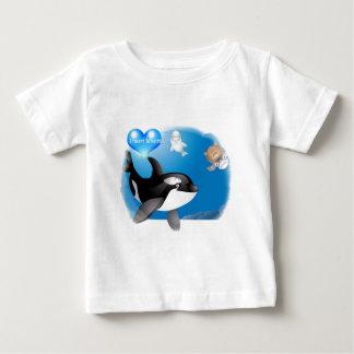El corazón de la orca (orca) I diseña Playeras