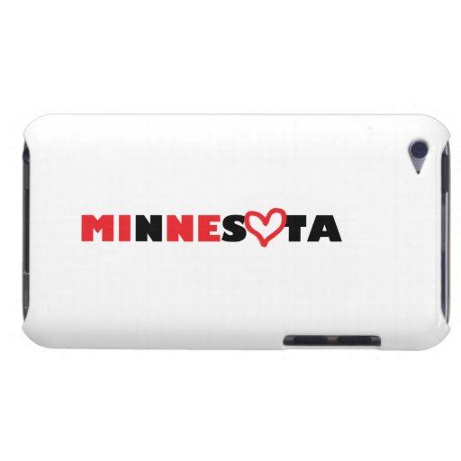 El corazón de Minnesota es el mío iPod Touch Case-Mate Cobertura
