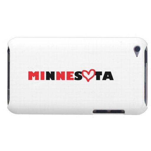El corazón de Minnesota es el mío iPod Touch Funda
