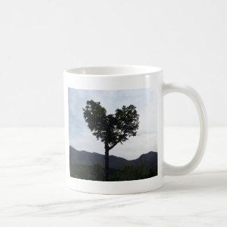 El corazón de New Hampshire Taza De Café