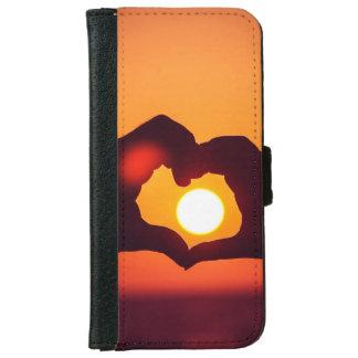 El corazón del amor da símbolo carcasa de iPhone 6