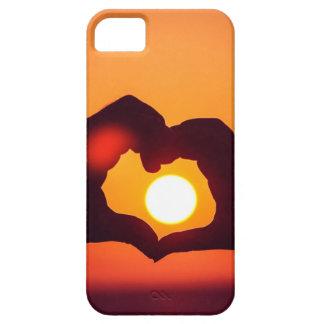 El corazón del amor da símbolo iPhone 5 fundas