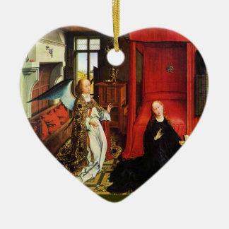 El corazón del ANUNCIO Adorno De Reyes
