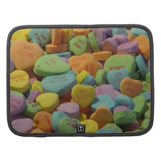 El corazón del caramelo sea el mío te amo organizador