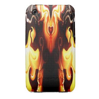 El corazón del fuego iPhone 3 Case-Mate carcasa