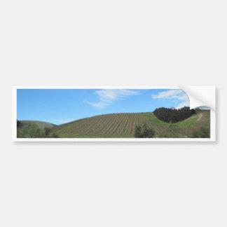 El corazón del país vinícola de Paso Robles Pegatina De Parachoque