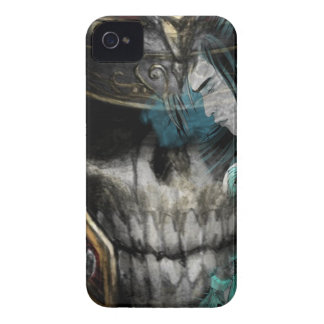 El corazón del samurai iPhone 4 Case-Mate carcasa