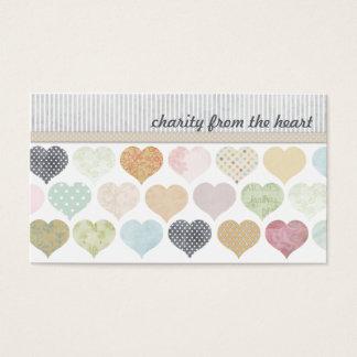 El corazón desecha tarjetas de visita