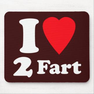 El corazón divertido 2 Fart paso el amor mortal si Alfombrillas De Raton
