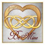 ¡El corazón doble 5 del oro del infinito - sea los