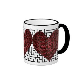 El corazón es un laberinto de la taza del