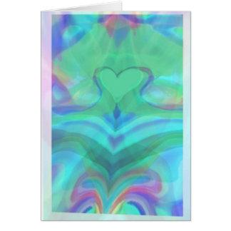 El corazón es un milagro maravilloso tarjeta de felicitación