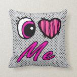 El corazón I del ojo de Emo me ama