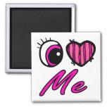 El corazón I del ojo de Emo me ama Iman