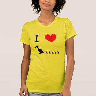El corazón I ducks la camisa