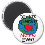 El corazón más grande de Nonna del mundo Iman De Nevera