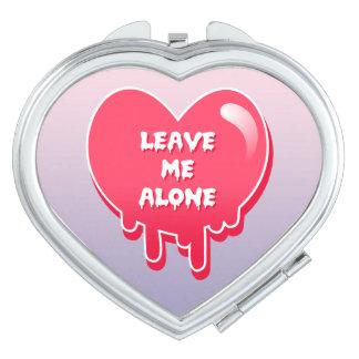 el corazón melty en colores pastel sale me de femi espejo para el bolso
