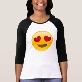 El corazón observa EmojiTee Camisas