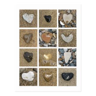 El corazón oscila la postal
