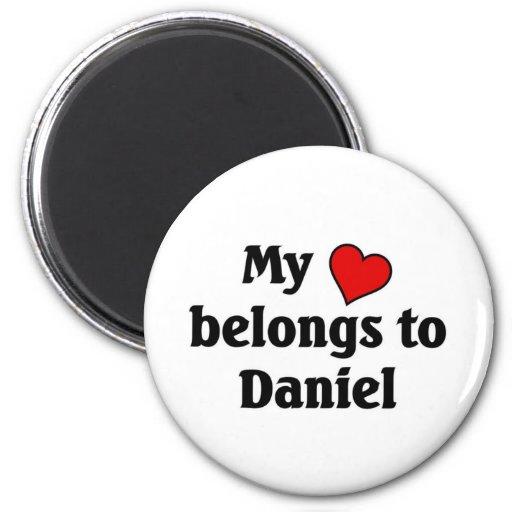 El corazón pertenece a Daniel Imán De Frigorifico