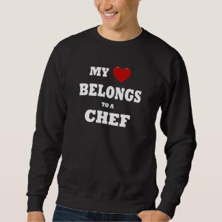 El corazón pertenece a un cocinero suéter