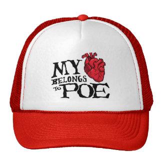 El corazón pertenece al gorra del Poe