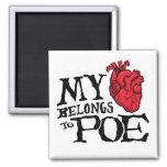 El corazón pertenece al imán del Poe