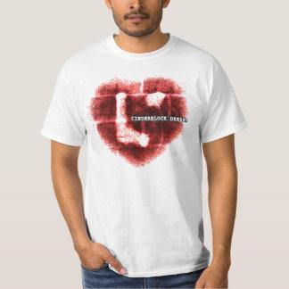 """El corazón trágico """"Cinderblock soña"""" la camiseta"""