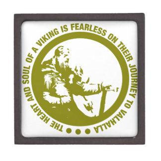 El corazón y el alma de Viking es audazes - Caja De Joyas De Calidad