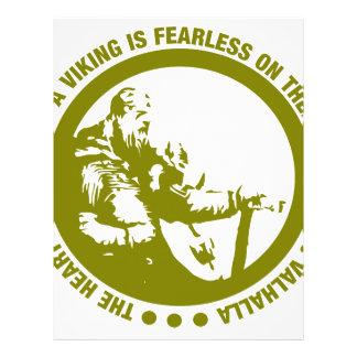 El corazón y el alma de Viking es audazes - Membrete