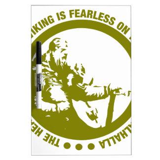 El corazón y el alma de Viking es audazes - Pizarra Blanca