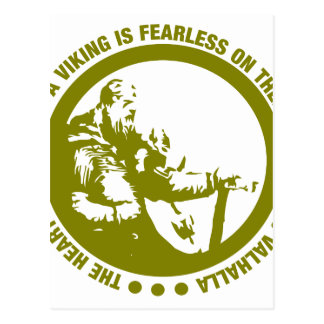 El corazón y el alma de Viking es audazes - Tarjeta Postal