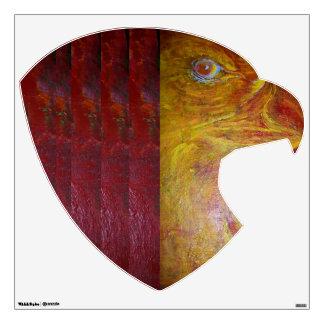El corazón y el alma del águila vinilo adhesivo