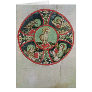 El cordero de dios tarjeta de felicitación