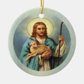 El cordero del ornamento del personalizado de dios adorno para reyes