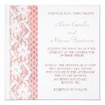 El cordón florece la invitación del boda
