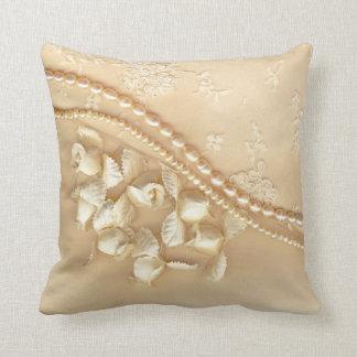 El cordón impreso gotea la almohada de tiro decora