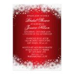 El cordón rojo de lujo del navidad nupcial invita