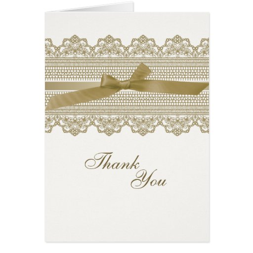 El cordón y la cinta le agradecen las tarjetas