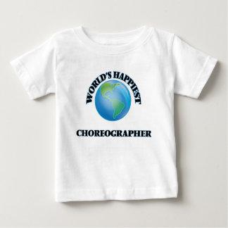 El coreógrafo más feliz del mundo tshirt