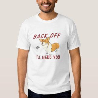 """El Corgi """"retrocede o le reuniré"""" la camiseta de l Playeras"""